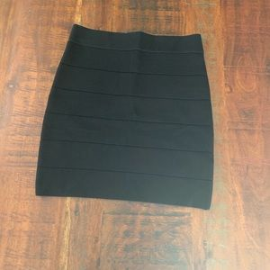{Bebe} EUC size medium black bodycon miniskirt